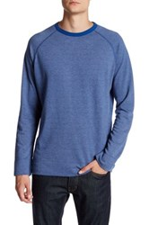 Benson New York French Terry Pullover Blue