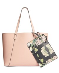 Steve Madden Daisy Pebble Extra Large Tote Blush