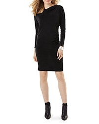 Phase Eight Cia Cowlneck Dress Charcoal