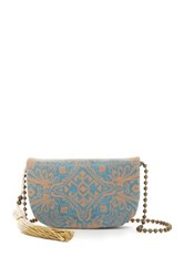 T Shirt And Jeans Laser Peel Crossbody Blue
