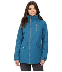 Burton Hazel Jacket Jaded Women's Coat Blue