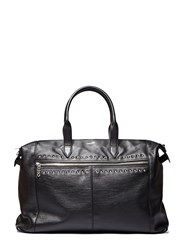 Saint Laurent Studded Leather Shopper Bag Black