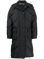 Mcq By Alexander Mcqueen Padded Hooded Coat White