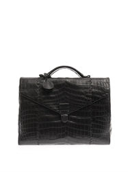 Bottega Veneta Crocodile Briefcase