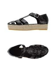 Pause Footwear Espadrilles Women Black