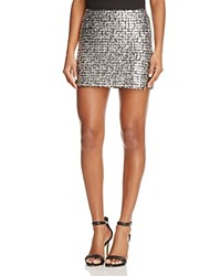 Bailey 44 Supreme Metallic Knit Mini Skirt