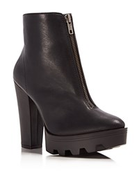 Mia Nata High Heel Platform Booties Compare At 79 Black