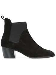 Robert Clergerie 'Marty' Ankle Boots Black