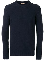 Nuur Round Neck Sweater Blue