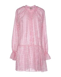 Marzia Genesi Sea Dresses Short Dresses Women Pink