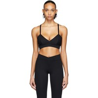 Live The Process Black V Sports Bra