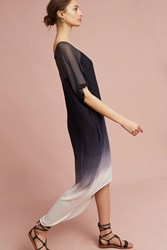 Anthropologie Ombre Dolman Dress Black