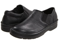 Naot Footwear Eiger Black Textured Leather Men's Slip On Shoes