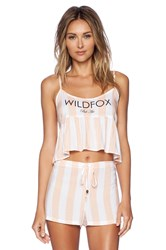 Wildfox Couture Costa Cami Peach