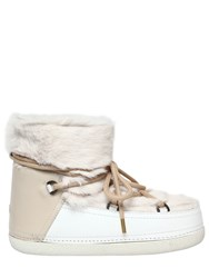 Inuikii 20Mm Lapin Fur And Leather Snow Boots