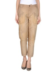 Get Lost Casual Pants Sand