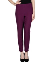 Blanca Luz Trousers Casual Trousers Women Mauve