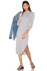 Cotton Citizen The Melbourne Midi Dress Gray