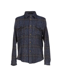 Stella Jean Shirts Dark Blue