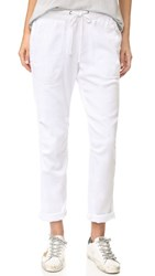 James Perse Twill Pants White