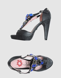 Lollipops Platform Sandals Black