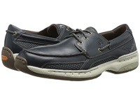 Dunham Captain Navy Men's Slip On Shoes