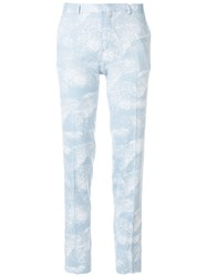 Each X Other Cloud Effect Trousers Blue