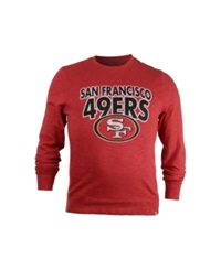 '47 Brand Men's San Francisco 49Ers Crew Sweatshirt Red