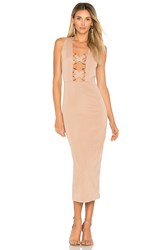 Misha Collection Monty Dress Taupe