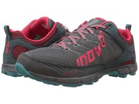 Inov 8 Roclite 295 Grey Berry Teal Women's Running Shoes Gray