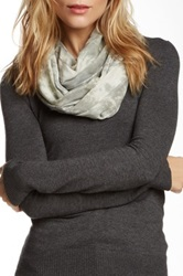 Leigh And Luca Multicolor Plaid Granite Scarf Gray