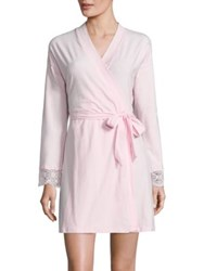 Cosabella Sonia Lace Robe Pink Lilly