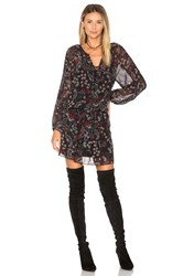 Sanctuary Cachet Boho Dress Black