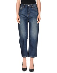 Marc By Marc Jacobs Denim Denim Capris Women Blue
