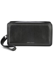 Jimmy Choo Clyde Clutch Black