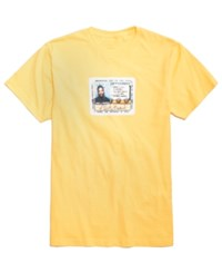 Fea O.D.B. Album Cover Graphic Print T Shirt Yellow