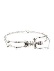 Saint Laurent Punk Skeleton Bracelet