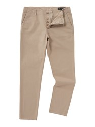 Label Lab Men's Sage Chino Trousers Stone