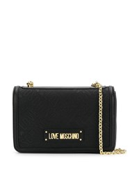 Love Moschino Chain Shoulder Bag Black