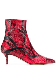 Paula Cademartori Misali New Ayers Boots Red