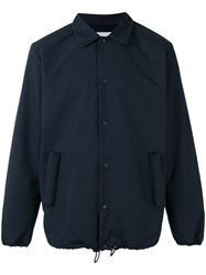 Julien David Shirt Jacket Blue