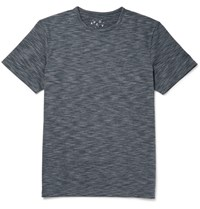 A.P.C. Outdoor Voices Melange Neoprene T Shirt Gray