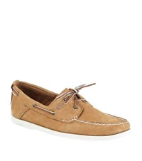 Timberland Heritage 2 Eyelet Boat Shoes Male Brown