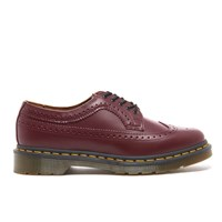 Dr. Martens Men's 3989 Original Archives Smooth Wingtip Brogues Cherry Red