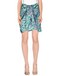 Nolita Skirts Mini Skirts Women Light Green