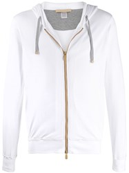 Eleventy Front Zipped Hoodie 60