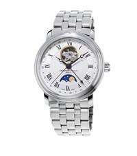 Frederique Constant Classics Moonphase Automatic Watch Unisex Silver