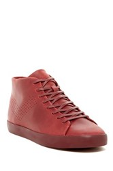 Pony Leather Laced Chukka Sneaker Red