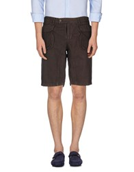 Master Coat Trousers Bermuda Shorts Men Cocoa