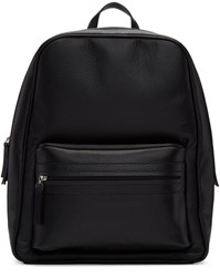 Maison Martin Margiela Black Leather Backpack